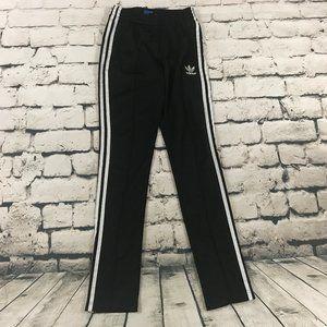 Adidas Women's Jogger Pants Ankle Zip Black XS